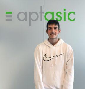 Aptasic SA - Welcome to our new trainee Loris!
